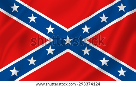US Confederate flag background texture