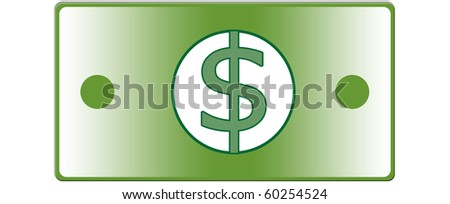 US Dollar, banknote of the United States of America - stock photo