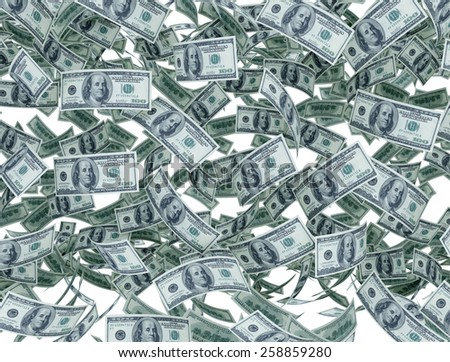 US dollar - money background  - stock photo