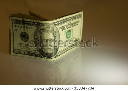 us dollars banknote