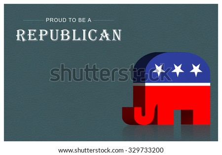 US presidential election - stock photo