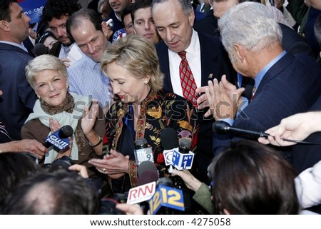 US Senator Hillary Rodham Clinton - stock photo