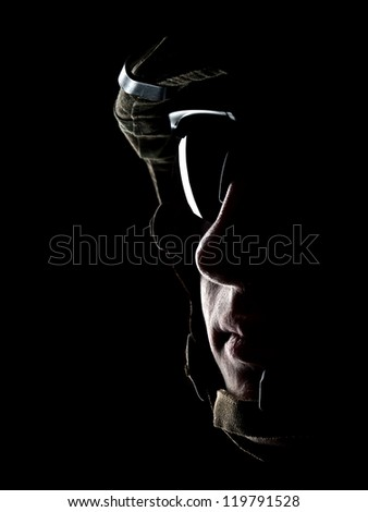 US soldier - stock photo