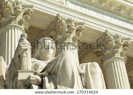 US Supreme Court  - stock photo