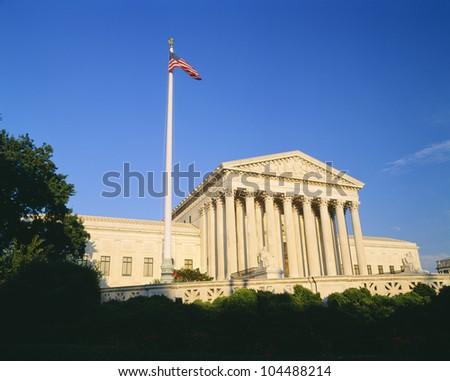 US Supreme Court, Washington DC - stock photo