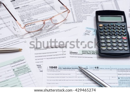 us tax form with calculator