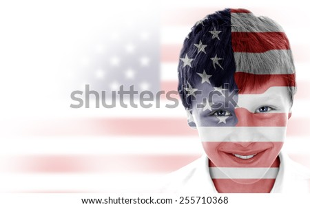 USA - stock photo