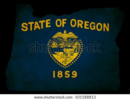 Oregon State Map Stock Images RoyaltyFree Images Vectors - Oregon state map in usa