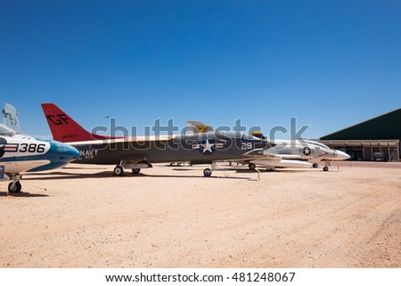USA. ARIZONA. JUNE - 10, 2016: Pima Air & Space Museum. Editorial only.