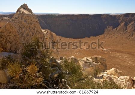 USA, Arizona, Meteor Crater close to Flagstaff - stock photo