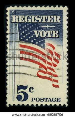 Voter registration stock images royalty free images vectors usa circa 1980 a stamp dedicated to the voter registration is the requirement in sciox Choice Image