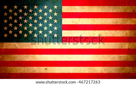 usa flag, abstract grunge design background