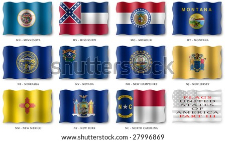 USA Flags (Part III)