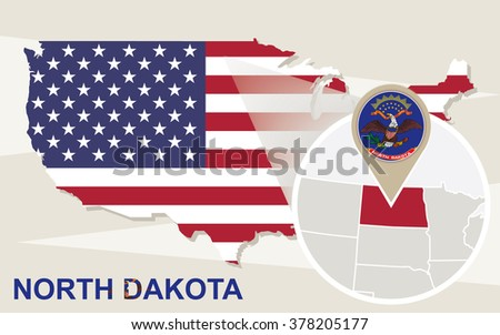 North Dakota Us Map Globalinterco - Most unchurched cities in the us google maps
