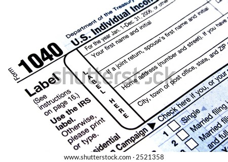usa 1040 tax form