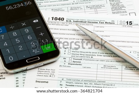 Tax form 1040 tax year 2012 stock photo 111061388 for 1040 tax table calculator