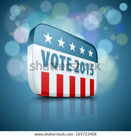 USA Vote 2015 - stock photo