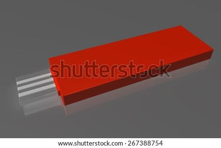 USB adaptor - stock photo