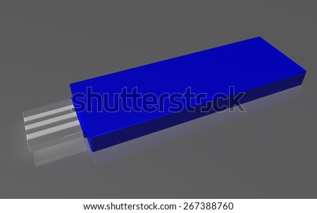 USB Device - stock photo