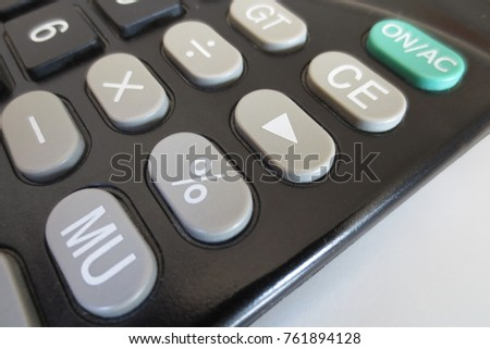 Used calculators and keyboards