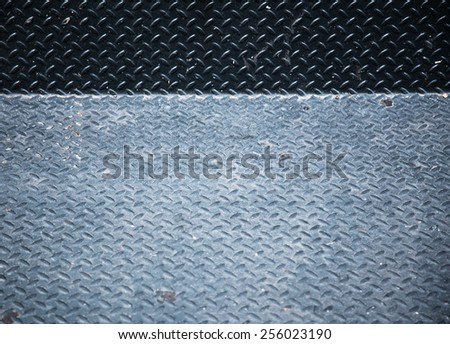 Used look metal plate background texture - stock photo