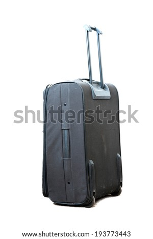 Used travel suitcase