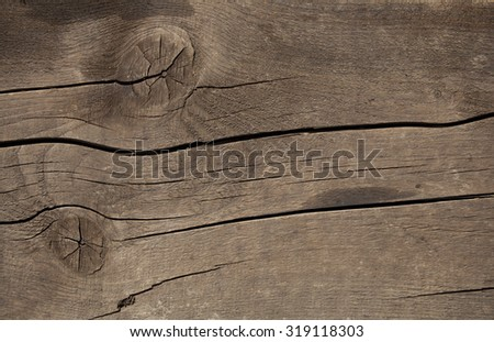 used wood texture as a natural background