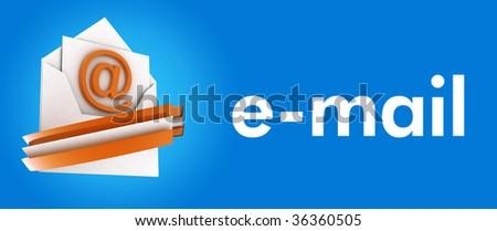 useful e-mail concept - stock photo