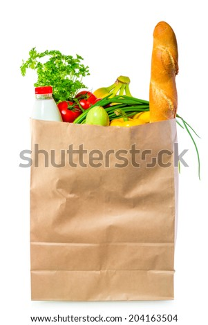 useful for health food in the consumer package - stock photo
