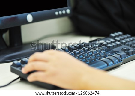using computer