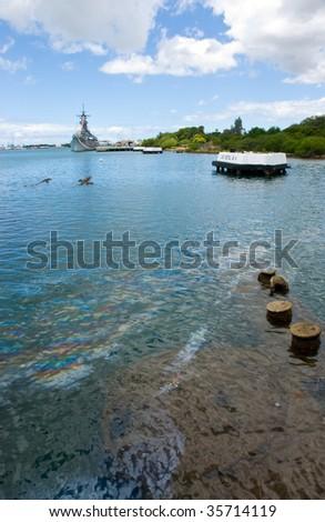 USS Arizona - stock photo