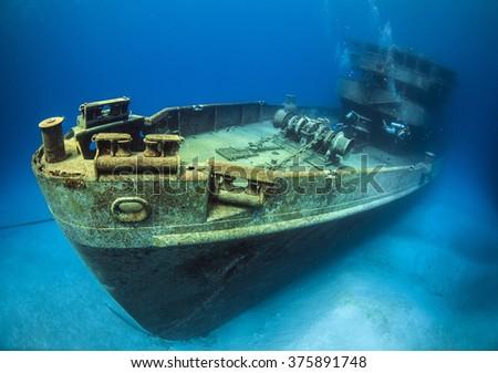 USS kittywake - stock photo