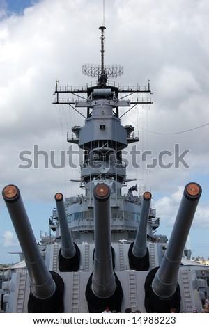 USS Missouri - stock photo