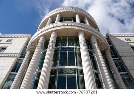 Utah State and Supreme Court Building - stock photo