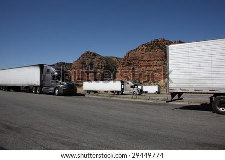Utah Truckstop - stock photo