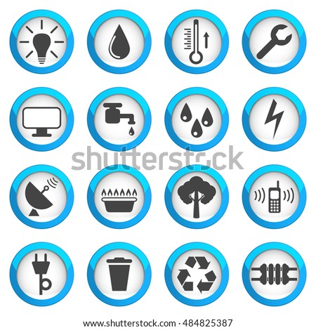 Home Utilities Icon Stock Images Royalty Free Images amp Vectors Shutterstock