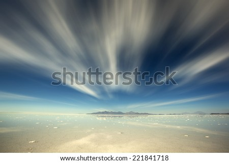 Uyuni, Bolivia - stock photo