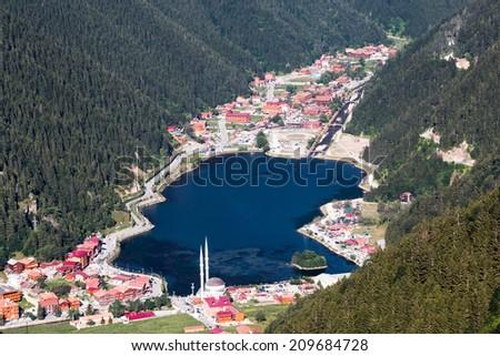 Uzungol Landscape - stock photo