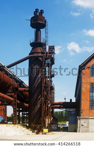 Ví­tkovice ironworks Ostrava - stock photo