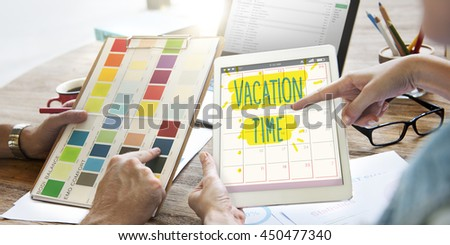 Vacation Break Journey Leave Recreation Travel Concept