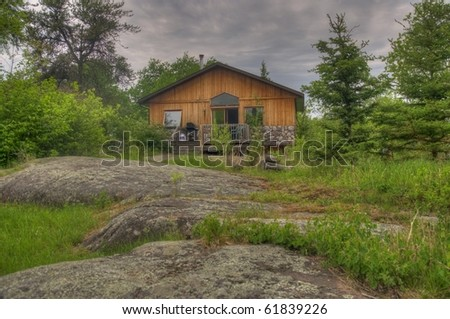 vacation cottage on mountain