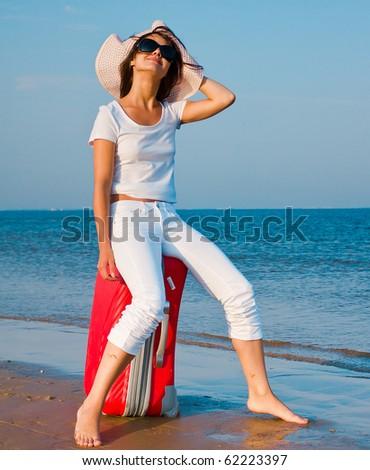 Vacation starts here!!! - stock photo