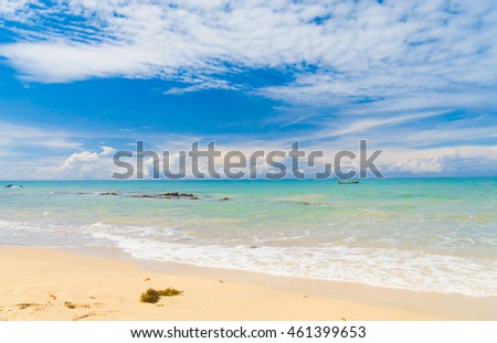 Vacation Wallpaper White Sand