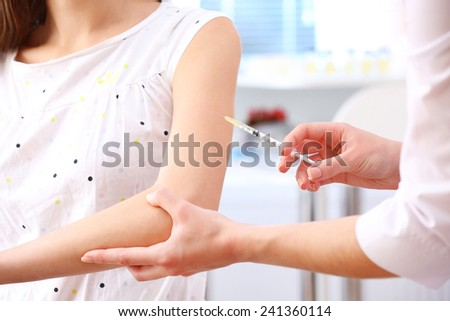 Vaccination - stock photo