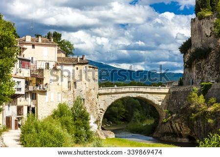 Vaison-la-Romaine, Provence, France - stock photo
