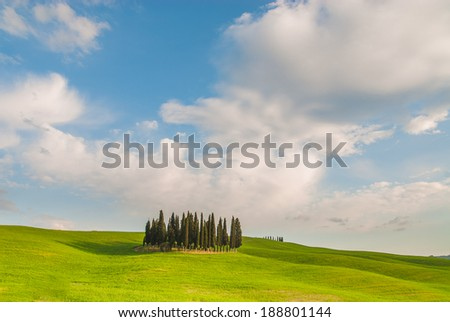 Val d'Orcia place sighs poets and painters. North Tuscany is the essence of this land.