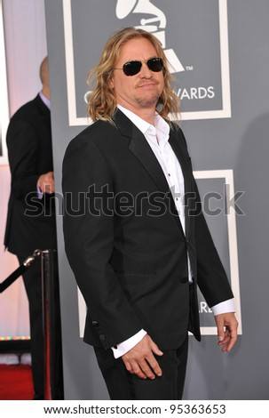 Val Kilmer at the 54th Annual Grammy Awards at the Staples Centre, Los Angeles. February 12, 2012  Los Angeles, CA Picture: Paul Smith / Featureflash