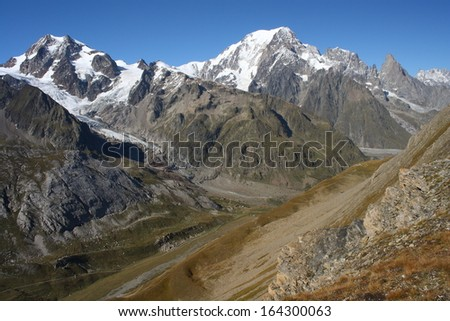 Val Veny in Graian Alps, Italy