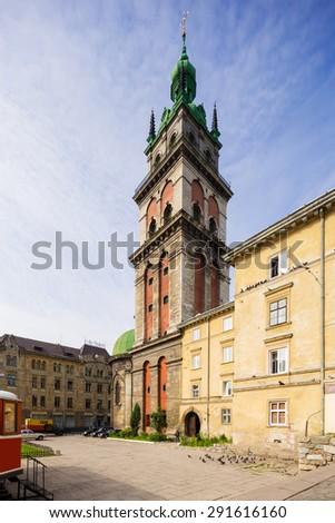 Valachian (Dormition) Church. Lviv. Ukraine. - stock photo