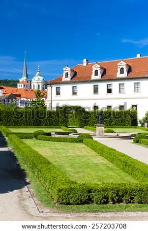 Valdstejnska Garden, Prague, Czech Republic - stock photo